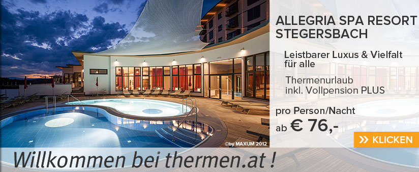Allegria SPA Resort Stegersbach