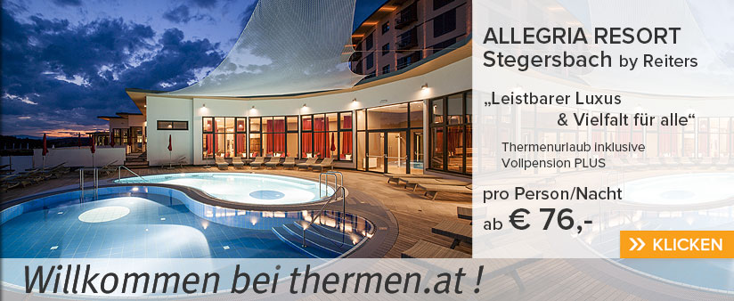 Allegria Resort Stegersbach by Reiters